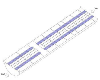 Picture of Boeing 767-300 Aisle Carpet Set
