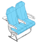 Picture of 1005705/06 Series, Y Class Seat Covers