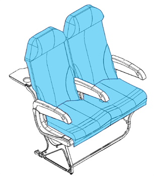 Picture of 1008533 Series, Y Class Seat Covers,