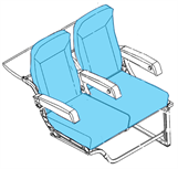 Picture of 700-AJ13A Series, Y Class Seat Covers