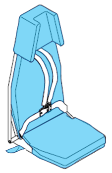 Picture of 41271001 Series, FWD FA Seat Covers
