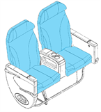 Picture of 1008852/4 Series, J Class Seat Covers