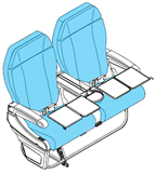 Picture of 41652001/3001 Series, J Class Seat Covers