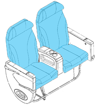 Picture of 1014196/7 Series, J Class Seat Covers