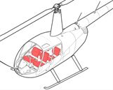 Picture of R44 CanvasSeat Overcovers