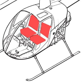 Picture of R22 Seat over cover set -Generation II