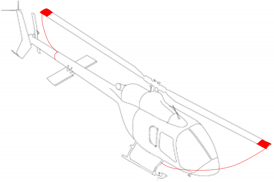 Bell 505 Tie down kit | Aircraft & Helicopter Interior Solutions
