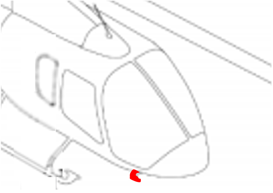 Bell 505 Pitot cover, tie down kit, Generation Global | Aircraft