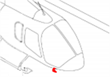Picture of Bell 505 Pitot cover