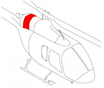 Picture of Bell 505 Engine Cover