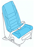 Picture of Seat Assy, Generation III