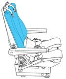 Picture of Ipeco 3A118, Captain, Backrest Cover
