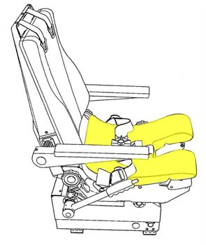 Picture of Ipeco 3A118, Seat, Bottom Cushion