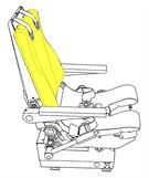 Picture of Ipeco 3A118, Seat, Backrest Cushion