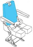 Picture of AviaTech 394 Series, Seat Backrest Cover