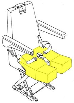 Picture of AviaTech 394 Series, Seat Bottom Cushion