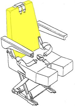 Picture of AviaTech 394 Series, Seat Backrest Cushion