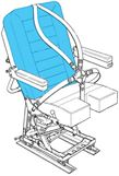 Picture of AviaTech 386, Seat, Backrest Cover