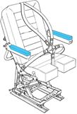 Picture of AviaTech 386, Seat, Armrest Cover