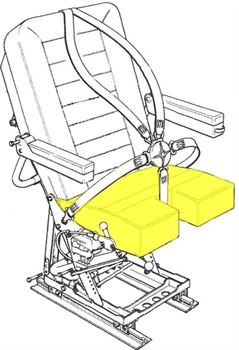 Picture of AviaTech 386, Seat, Bottom Cushion