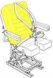 Picture of AviaTech 386, Seat, Backrest Cushion