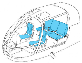 Picture of BO-105 Seating - Generation I