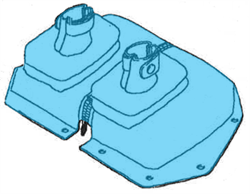Picture of BO105 Pedal boot