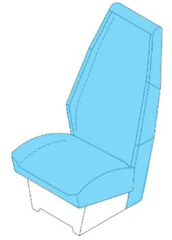 Picture of Pax seat