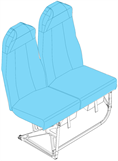 Picture of JB6 Series, Pax Seat Covers