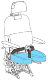 Picture of 1414 Series, Seat Pan Cover