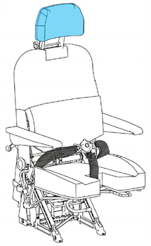 Picture of 1414 Series, Seat Headrest Cover