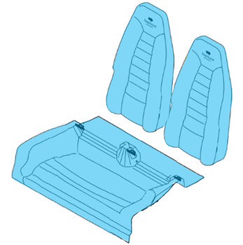 Picture of Rear Pax Seat Covers