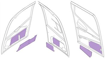 Picture of Door panel inserts - full set