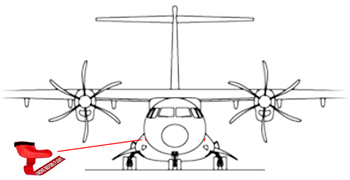 Picture of ATR 42/72  Pitot cover