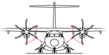 Picture of ATR 42/72 Prop tie