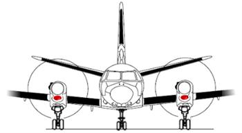 Picture of Saab 340 Intake blanks