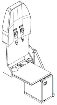 Picture of 537-Series, FA Seat, pocket