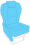 Picture of Executive Series, Pax Seat Covers