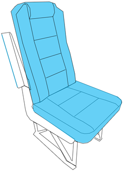 Picture of Commuter Series, Pax Seat Covers