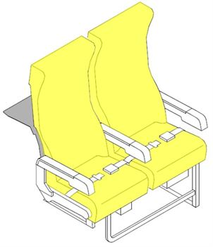 Picture of D121 Series, Y Class Seat Cushions