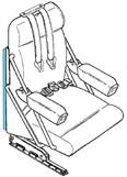 Picture of Cover, Crew Seat Back Pocket- RH