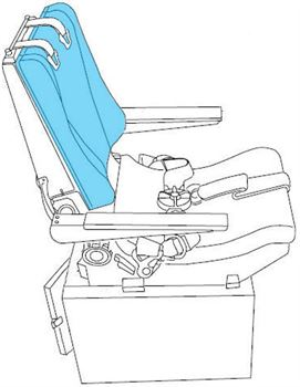 Picture of Second Observer, Seat Cover Backrest
