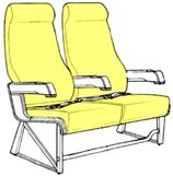 Picture of PTC Series, Y Class Seat Cushions