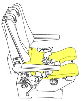 Picture of Cushion, Bottom, Crew Seat