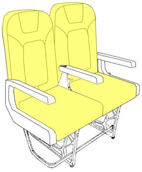 Picture of  312RM Series, Y Class, Seat Cushion