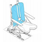 Picture of Cover, Seat Backrest, IAI model seat