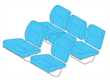 Picture of R66 Seat Covers, Generation II