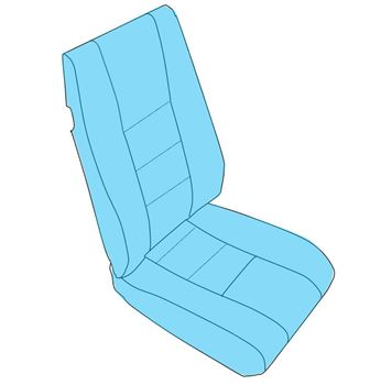 Picture of Crew Seating, Frame-less, Gen I