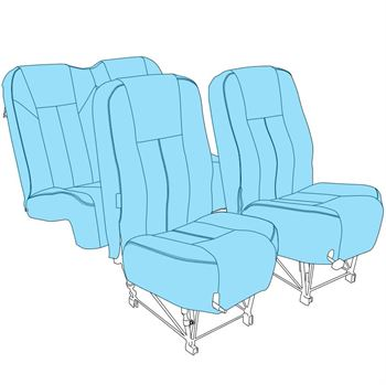 Picture of C172 Seat Upholstery (Early)