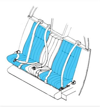 Picture of FWD Seat Assys, W/o Centre Seat